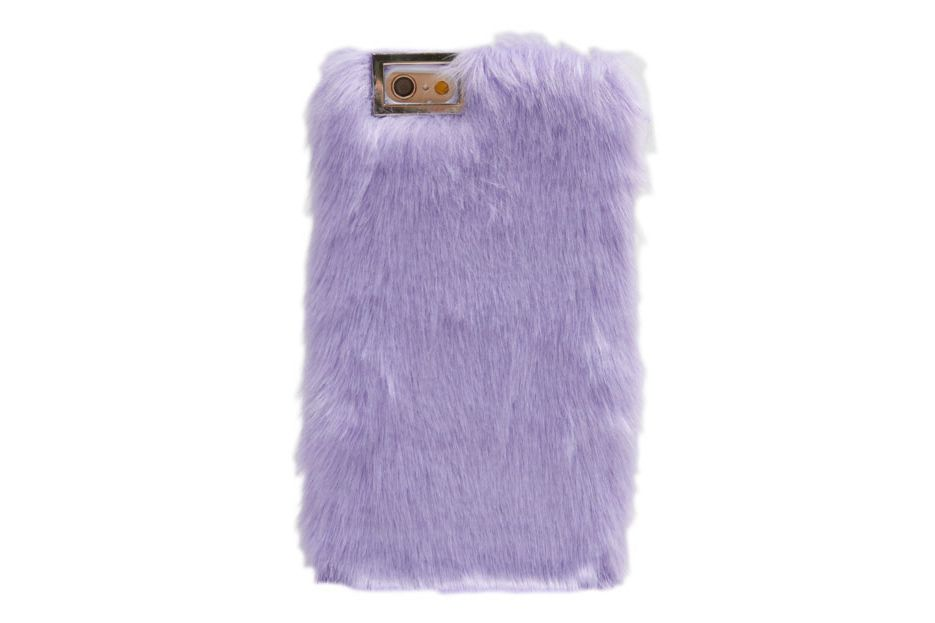 iPhone 6/6s Lilac Fur Case