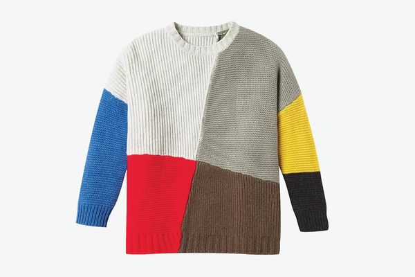 Entireworld Patchwork Adams Sweater