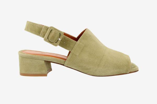 By Far Scandi Strap Sandals in Green