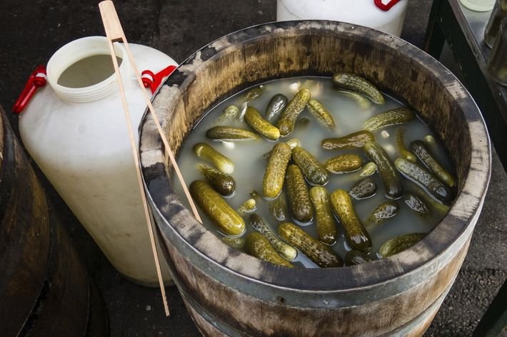 You're going to need a permit for those pickles.