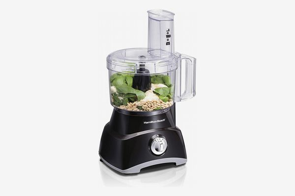Hamilton Beach Food Processor, Slicer and Vegetable Chopper With Compact Storage, 8 Cups