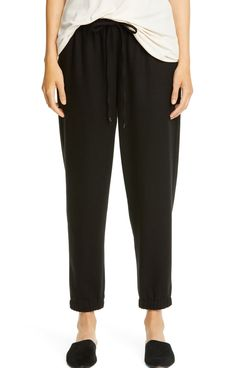 Eileen Fisher Wool Jogger Pants
