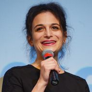 """Comedian/actress Jenny Slate takes part in a Q&A following the """"Obvious Child"""" Premiere during the 2014 SXSW Music, Film + Interactive Festival at the Topfer Theatre at ZACH on March 9, 2014 in Austin, Texas."""