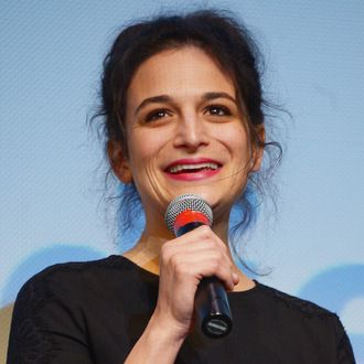 Comedian/actress Jenny Slate takes part in a Q&A following the