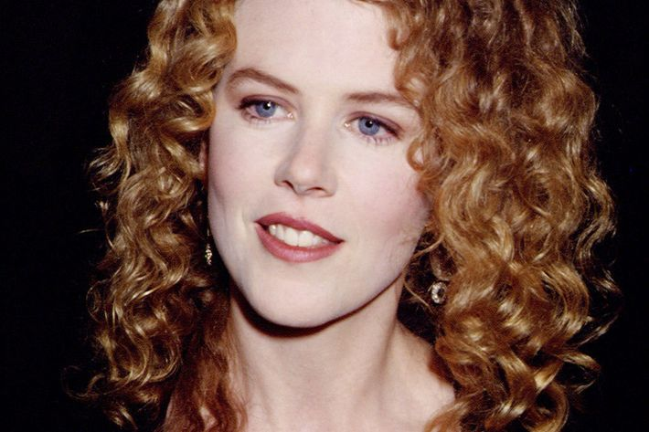 Nicole Kidman, curly here.