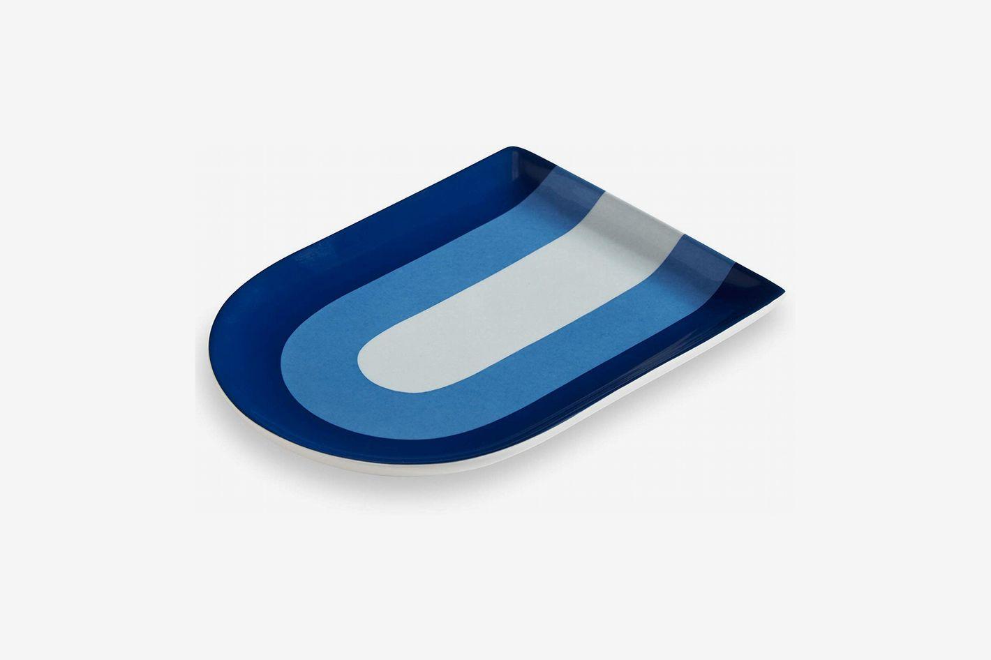 Now House by Jonathan Adler Chroma Decorative Tray, Blue