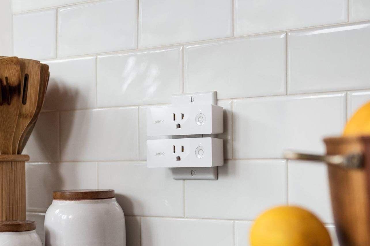 Wemo Mini Wi-Fi Smart Plug, 2-Pack