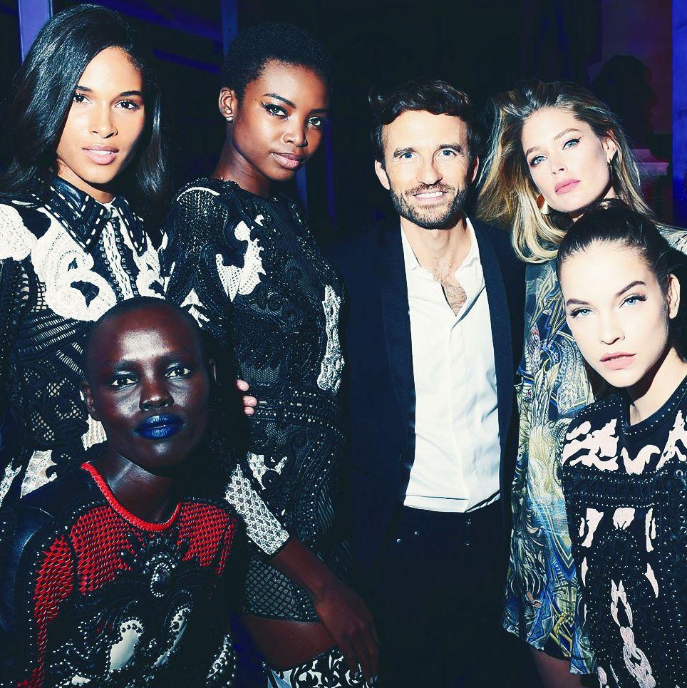 9dbad6b36c1 Photos: L'Oréal Paris X Balmain Party with Courtney Love