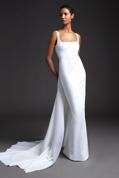 e91efd213d Best Wedding Dresses From Bridal Fashion Week Spring 2020