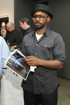 "NEW YORK, NY - SEPTEMBER 08:  Actor Nelsan Ellis attends Time Warner's ""Beyond 9/11"" Photo Exhibit and Screening at Milk Studios on September 8, 2011 in New York City.  (Photo by Larry Busacca/Getty Images for Time Warner)"
