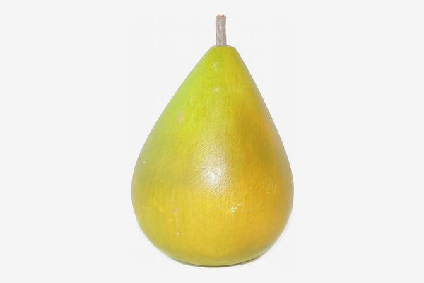 Italian Alabaster Stone Green Pear
