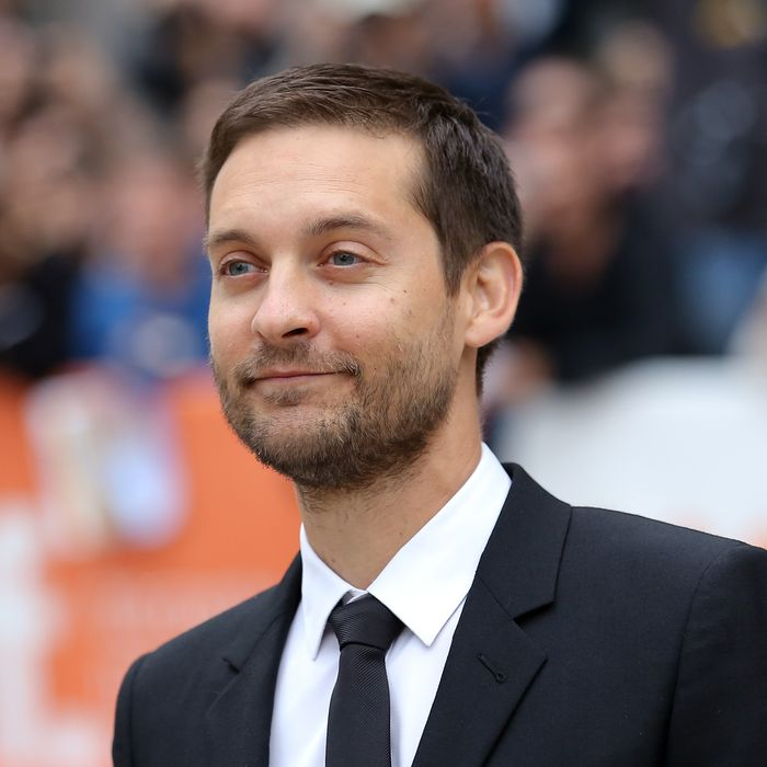 TORONTO, ON - SEPTEMBER 11: Actor/producer Tobey Maguire attends the