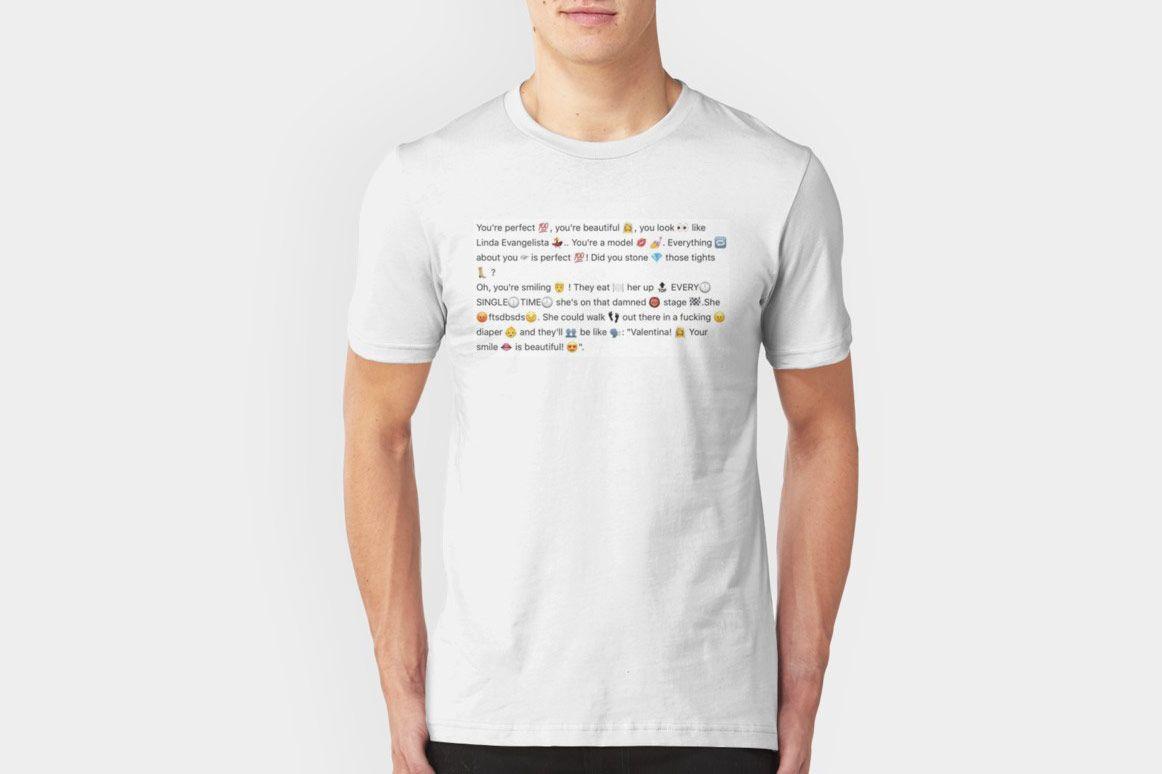 Aja Linda Evangelista Unisex T-shirt
