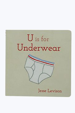 U is for Underwear Book by Jesse Levison