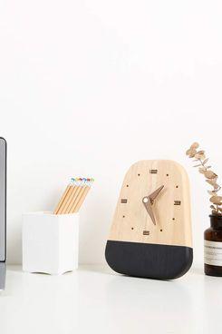 EMIROOM Modern Desk and Wall Clock