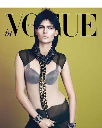 Karolin Wolter for <em>Vogue</em> Germany.