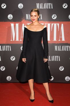 Actress Dianna Agron attends the 'Malavita' premiere on October 16, 2013 in Roissy-en-France, France.
