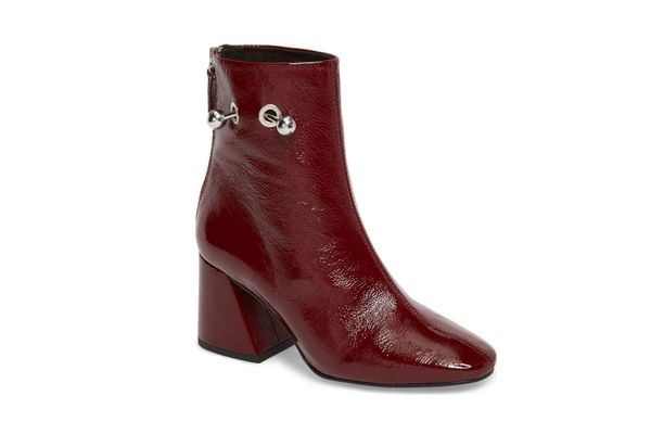 Topshop Mighty Flared Heel Bootie