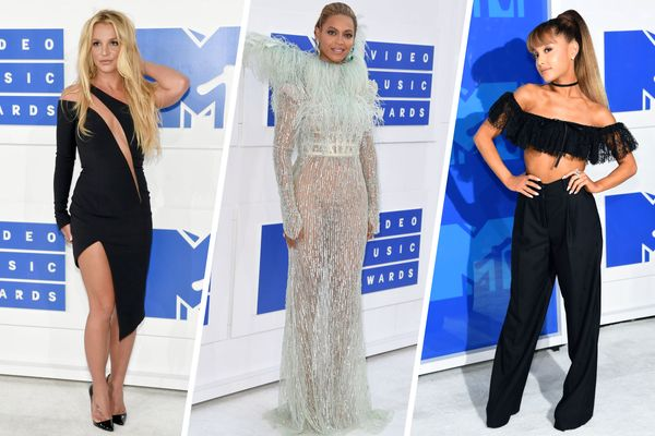 The 13 Best, Worst, and Most Feathery Looks On the 2016 VMA's Red Carpet