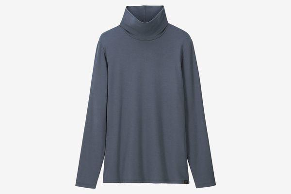 Uniqlo Women's Heattech Extra Warm Turtleneck T-shirt