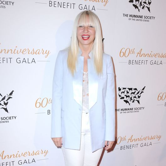 BEVERLY HILLS, CA - MARCH 29:  Singer/songwriter Sia Furler attends the Humane Society Of The United States 60th Anniversary Benefit Gala on March 29, 2014 at The Beverly Hilton Hotel in Beverly Hills, California.  (Photo by Barry King/FilmMagic)