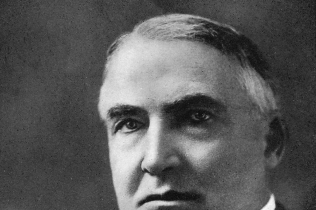 Warren G Harding, 29th President of the United States, (1933). Harding (1865-1923) was President from 1921 until 1923. Published in The American Presidents, (London, 1933). (Photo by The Print Collector/Print Collector/Getty Images)