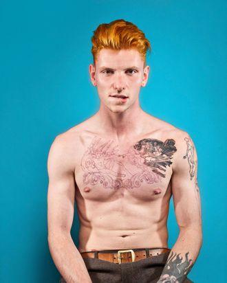 Hot ginger gay men