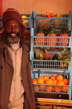 Melvin Major Jr. knows his fruit.