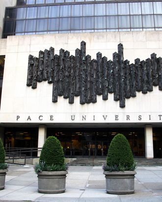 Pace University's New York City Campus in New York, New York on AUG 05, 2011.
