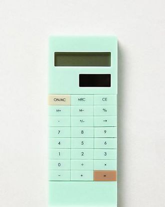 a cute calculator that fits in your pocket