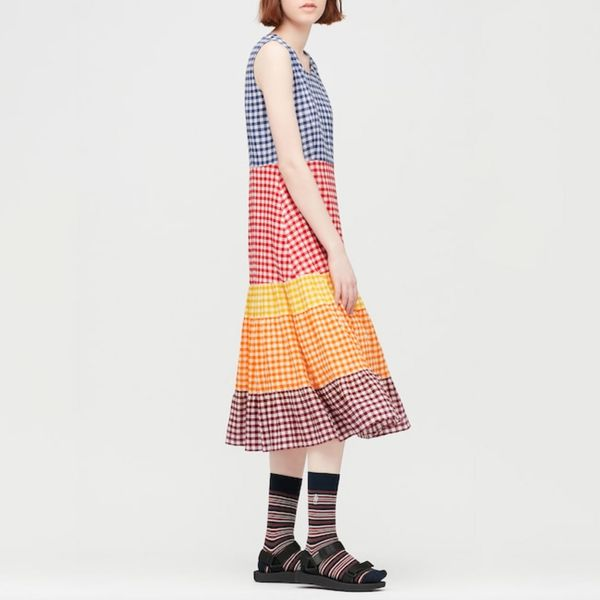 JW Anderson x Uniqlo Women's Tiered Sleeveless Dress