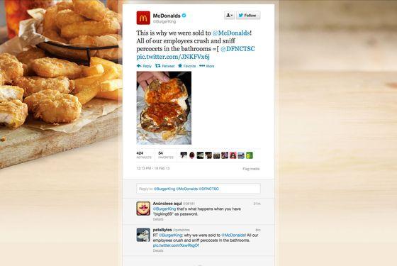 2cb531f2f9a Burger King Twitter Account Hacked by Apparent Big Mac-Loving Gucci Mane Fan