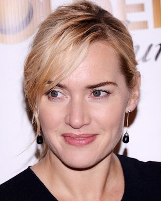 NEW YORK, NY - NOVEMBER 30: Actress Kate Winslet attends the American Christmas Carol Concert benefiting the Golden Hat Foundation at Carnegie Hall on November 30, 2012 in New York City. (Photo by Stephen Lovekin/Getty Images)