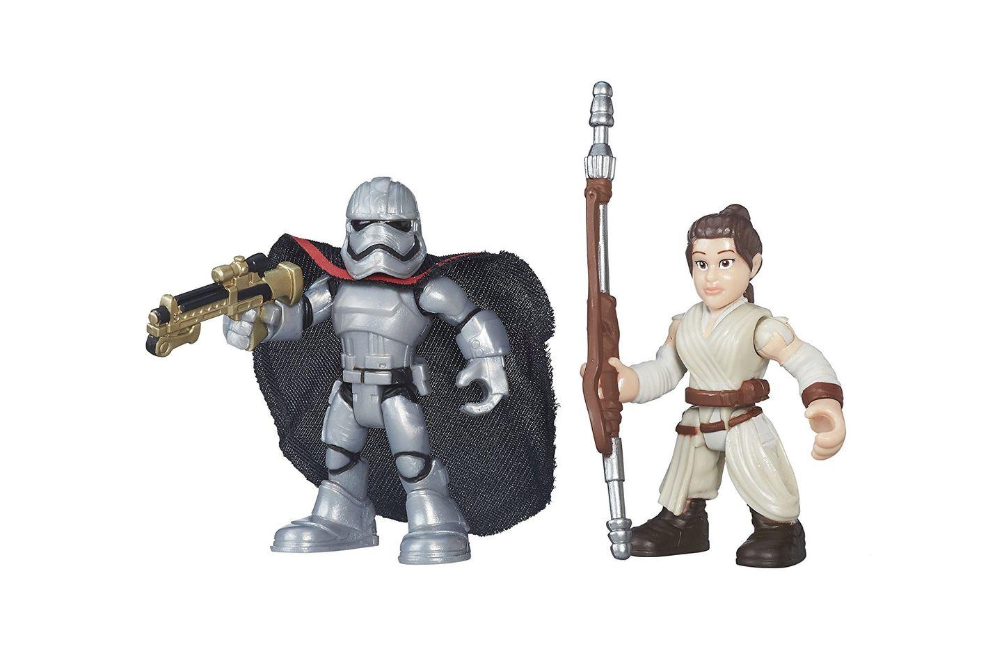 Playskool Heroes Galactic Resistance Rey & Captain Plasma