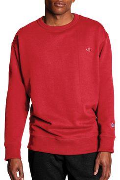 Champion Men's Powerblend Fleece Crew Sweatshirt