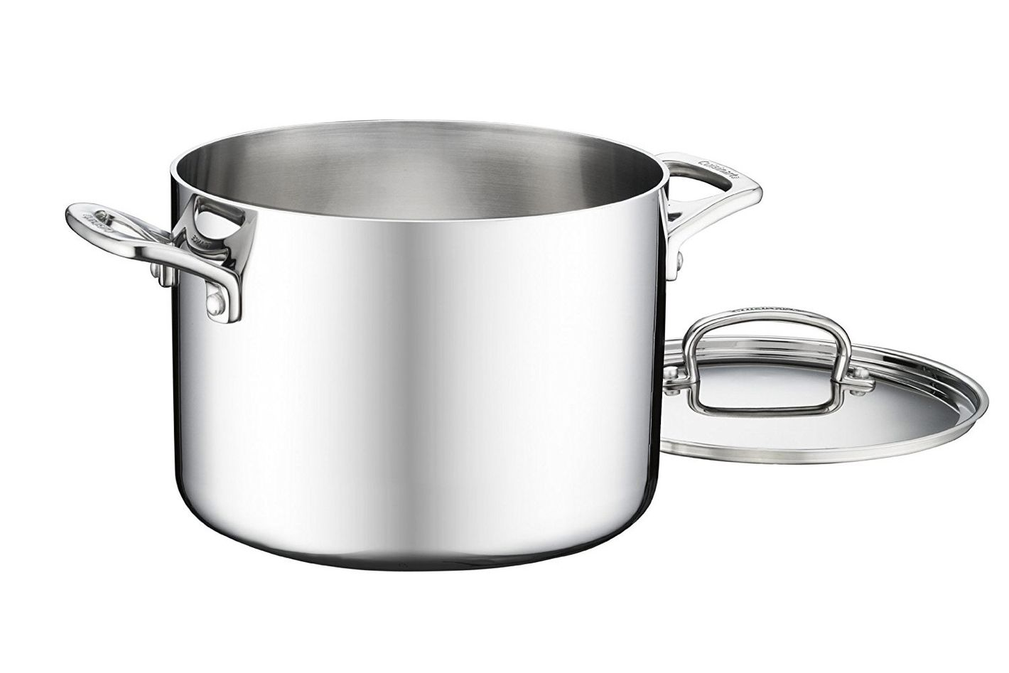 Cuisinart FCT66-22 French Classic Tri-Ply Stainless 6-Quart Stockpot with Cover