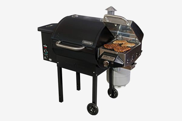 Camp Chef SmokePro DLX Pellet Grill (Black) with Sear Box