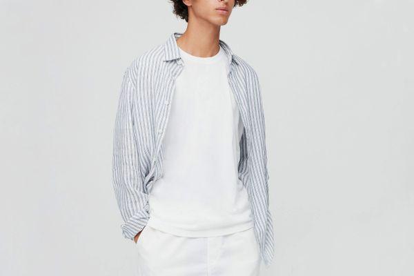 Uniqlo Men Supima Cotton Crewneck Short-Sleeve T-Shirt