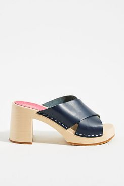 Swedish Hasbeens Annette Clog Sandals