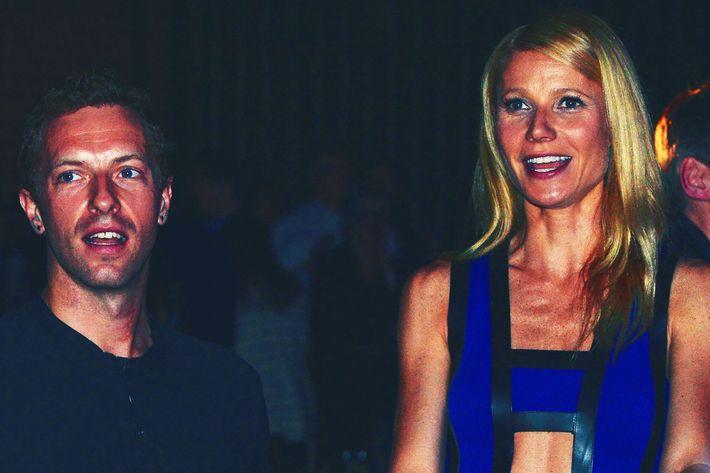 Chris Martin and Gwyneth Paltrow.