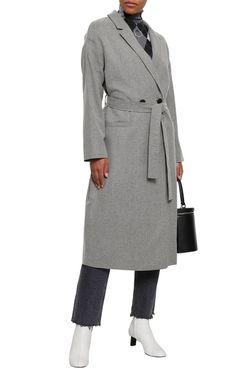 American Vintage Mélange Virgin Wool-blend Coat