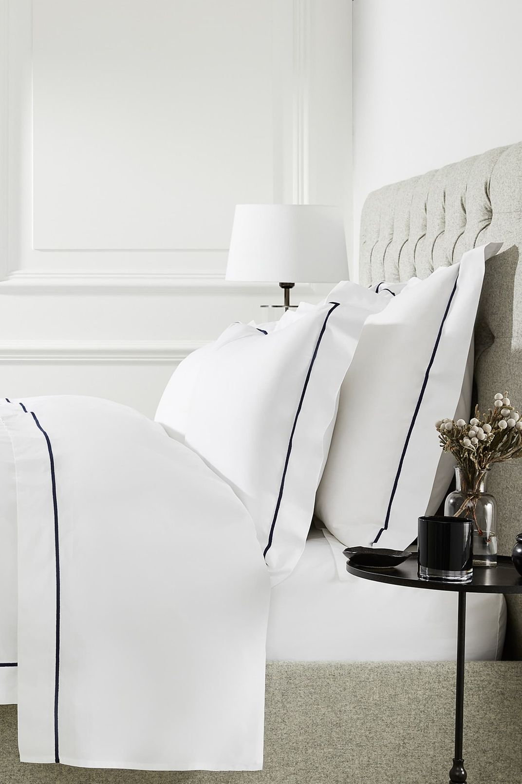 The White Company Luxury Savoy Duvet Cover