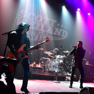 Scott Weiland And The Wildabouts In Concert - New York, New York