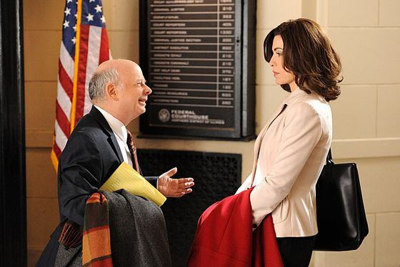 """Runnin\' with the Devil""-- Jailed drug dealer Lemond Bishop requests that Alicia (Julianna Margulies) work with his other lawyer, Charles Lester (Wallace Shawn), but soon begins to suspect his motives, on THE GOOD WIFE, Sunday March 10 (9:00-10:00 PM, ET/PT)"