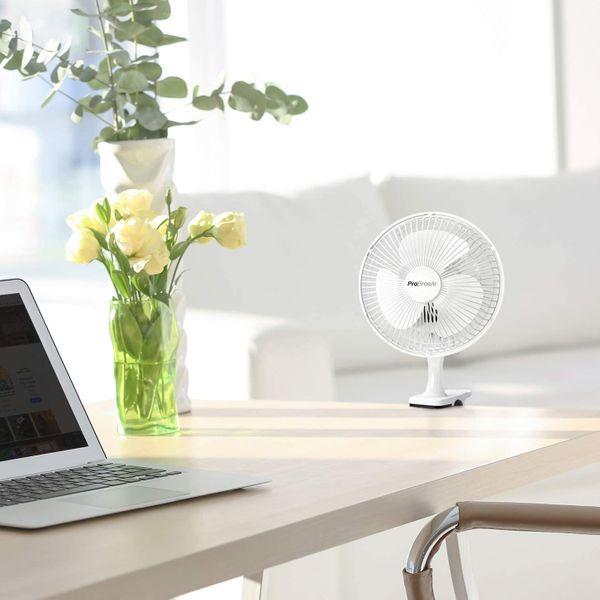 "Pro Breeze Professional 6"" Mini Clip Fan"