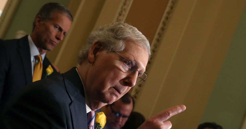 McConnell: Statehood for D.C. and Puerto Rico Is 'Socialism'