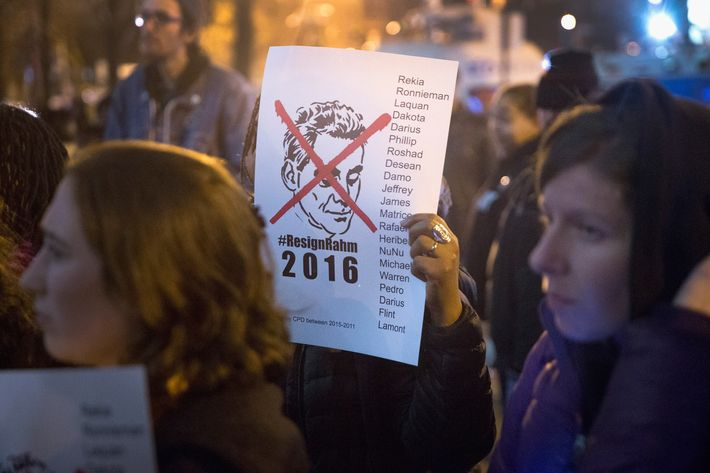 Protesters In Chicago Take To The Streets To Demand Resignation Of Mayor
