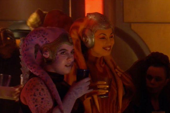26. Katie Lucas as Lunae Minx in Attack of the Clones.