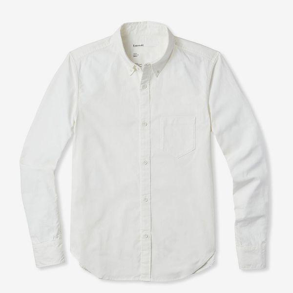 Entireworld White Men's Button-up Shirt