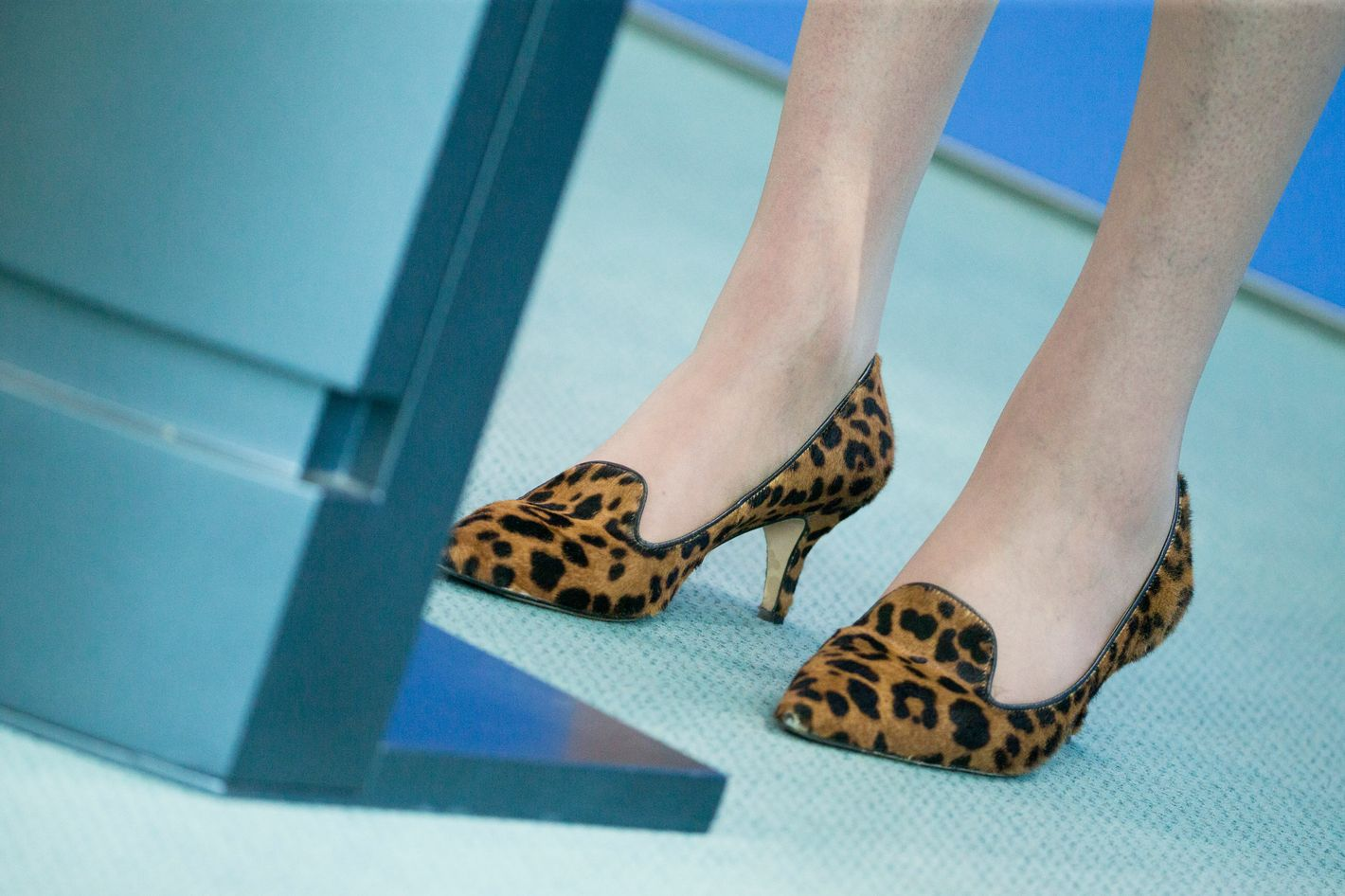 Shoe Du Jour Kim Kardashian S Not So Kitten Heels